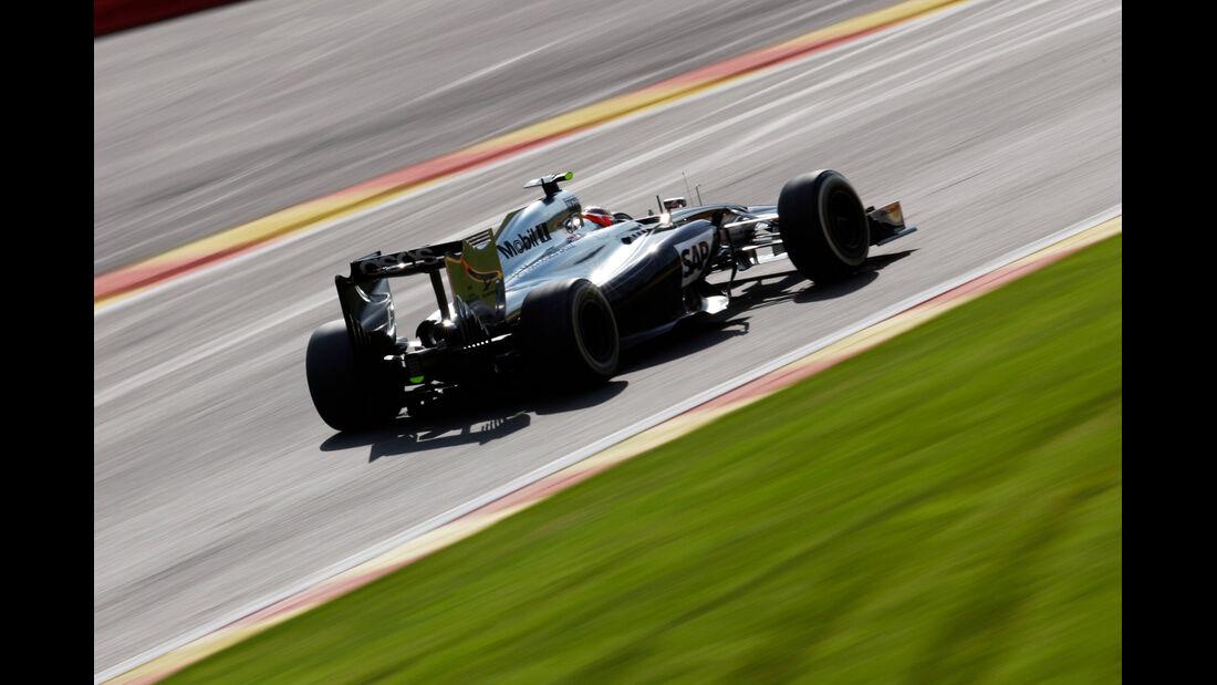 Kevin Magnussen - McLaren - Formel 1 - GP Belgien - Spa-Francorchamps - 22. August 2014