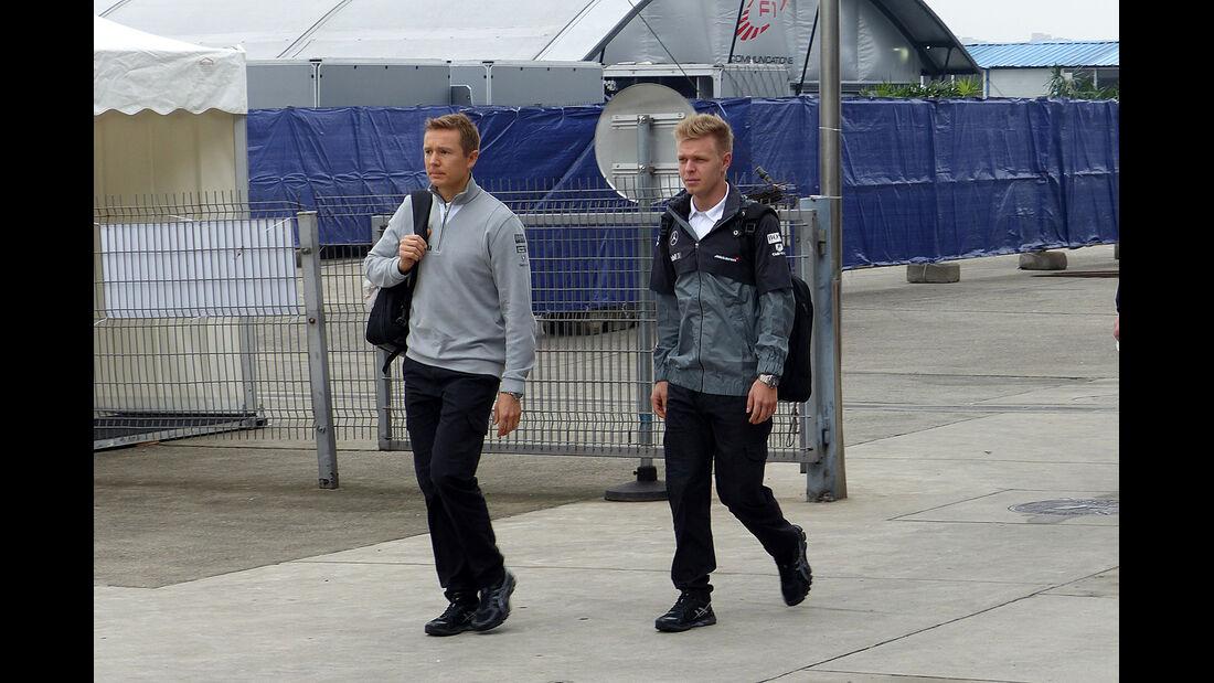 Kevin Magnussen - McLaren - Formel 1 - GP China - Shanghai - 16. April 2014