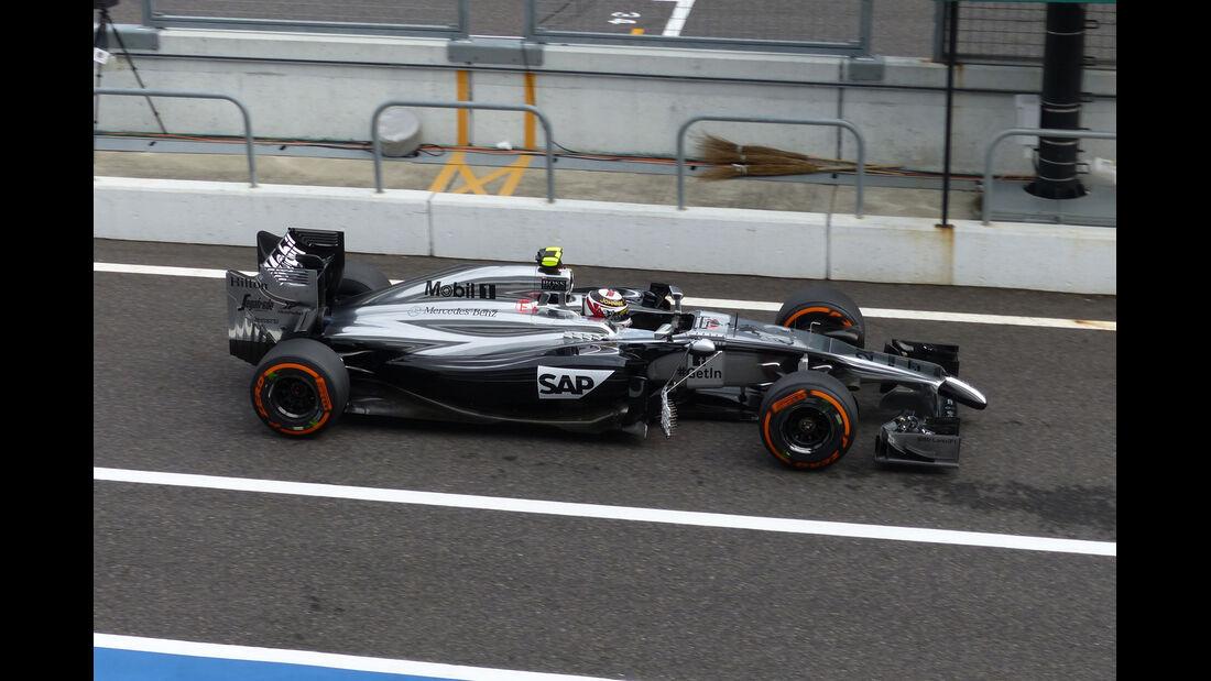 Kevin Magnussen - McLaren - Formel 1 - GP Japan - 3. Oktober 2014
