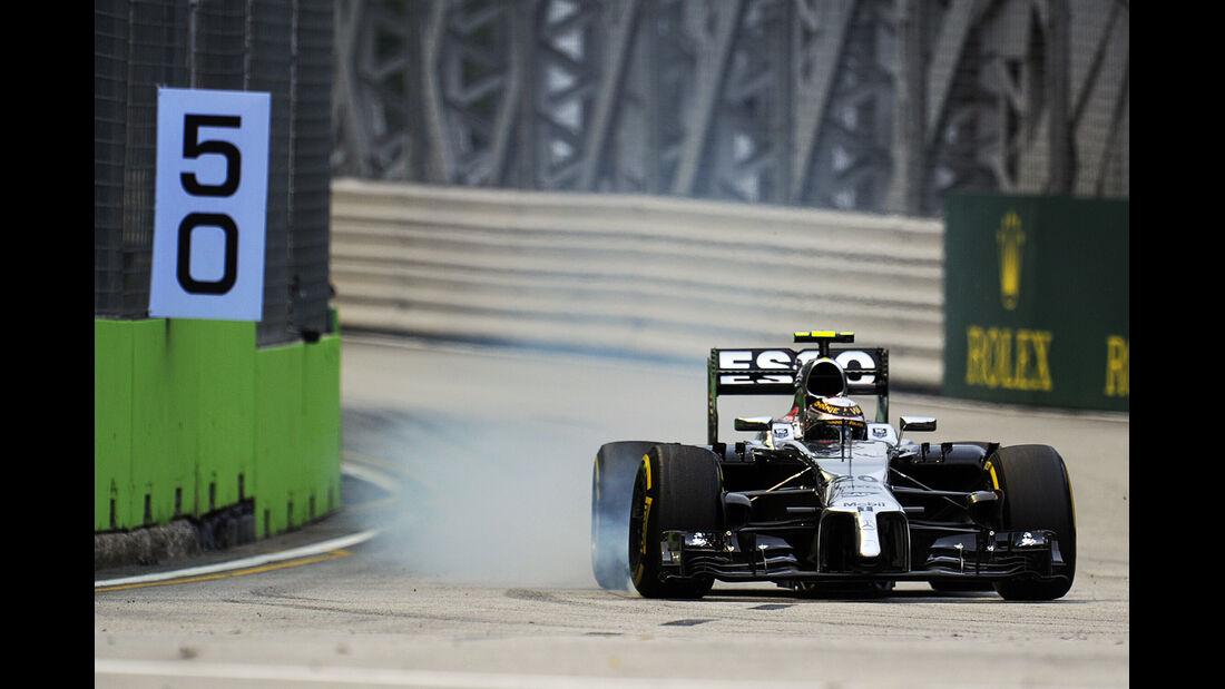 Kevin Magnussen - McLaren - Formel 1 - GP Singapur - 20. September 2014