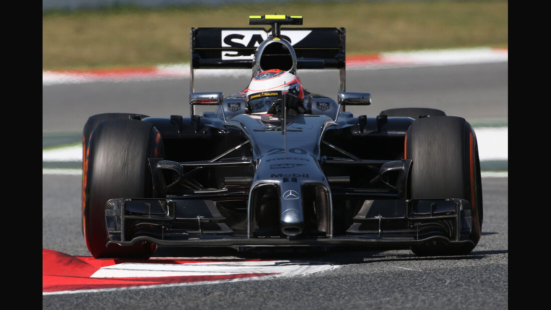 Kevin Magnussen - McLaren - Formel 1 - GP Spanien - Barcelona - 9. Mai 2014