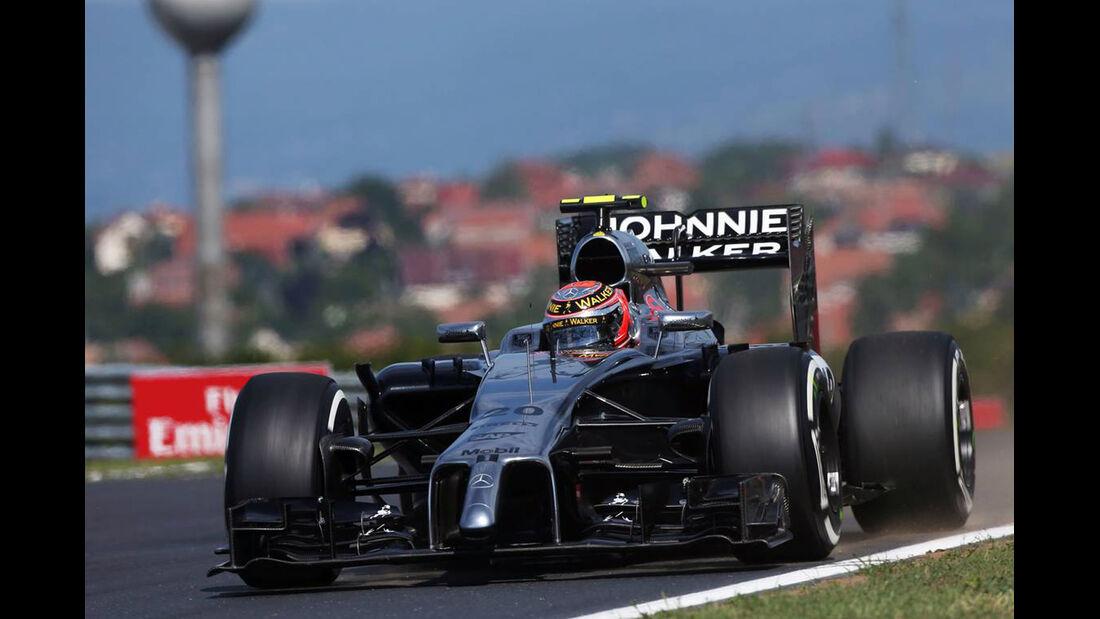 Kevin Magnussen - McLaren - Formel 1 - GP Ungarn - 25. Juli 2014