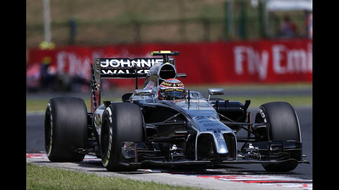 Kevin Magnussen - McLaren - Formel 1 - GP Ungarn - 26. Juli 2014