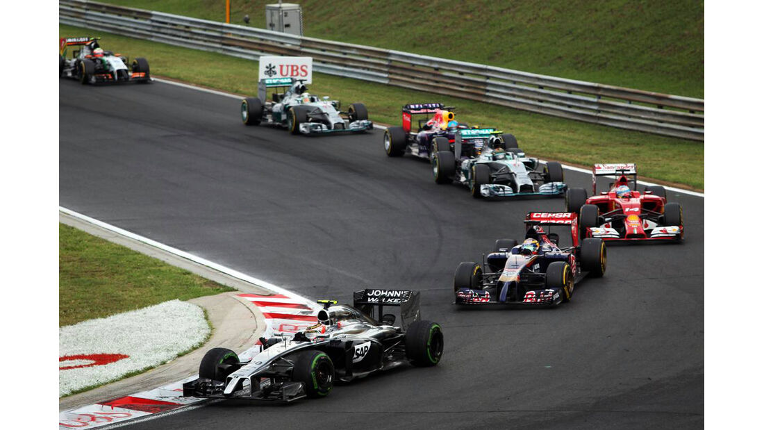 Kevin Magnussen - McLaren - Formel 1 - GP Ungarn - 27. Juli 2014