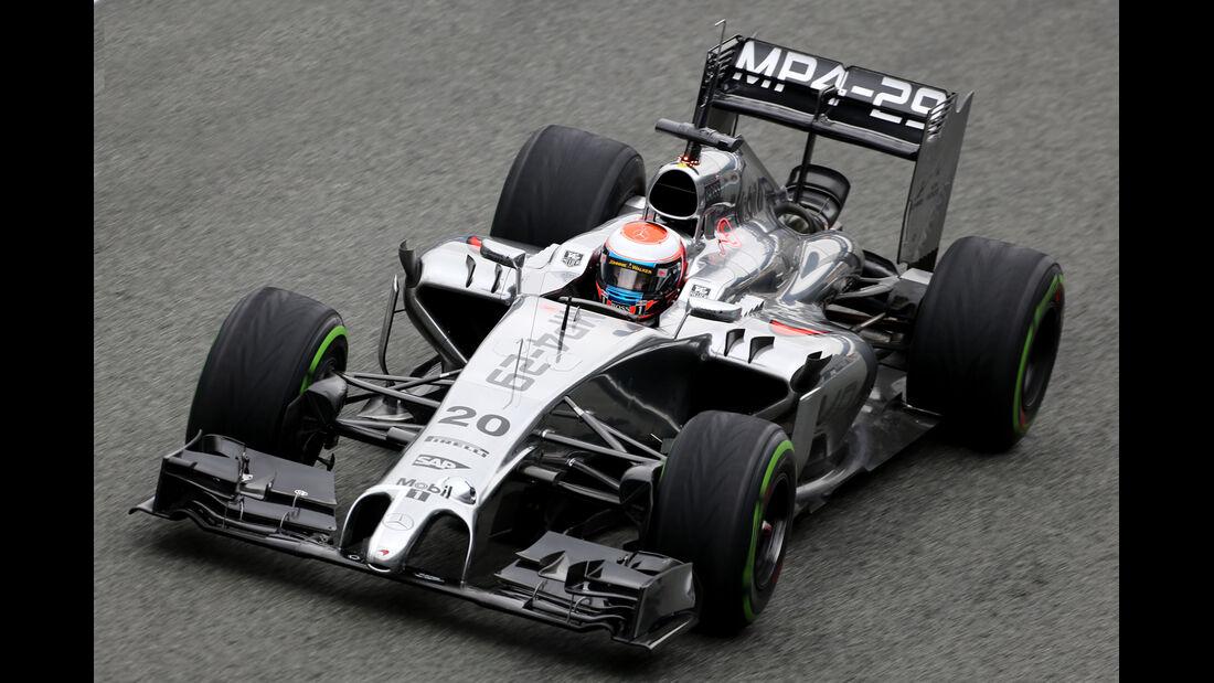 Kevin Magnussen - McLaren - Formel 1 - Jerez - Test - 31. Januar 2014
