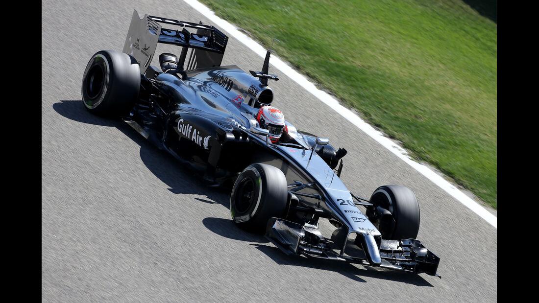 Kevin Magnussen - McLaren - Formel 1 - Test 1 - GP Bahrain 2014