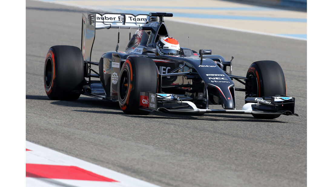 Kevin Magnussen - McLaren - Formel 1 - Test - Bahrain - 19. Februar 2014
