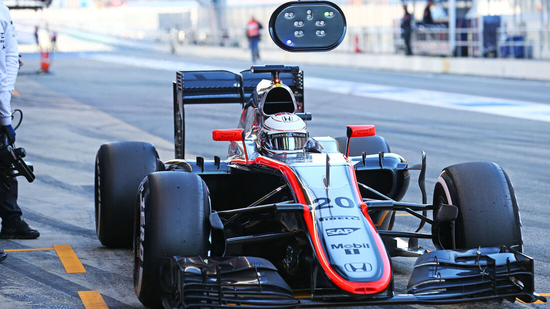 Kevin Magnussen - McLaren-Honda - Formel 1-Test - Barcelona - 28. Februar 2015