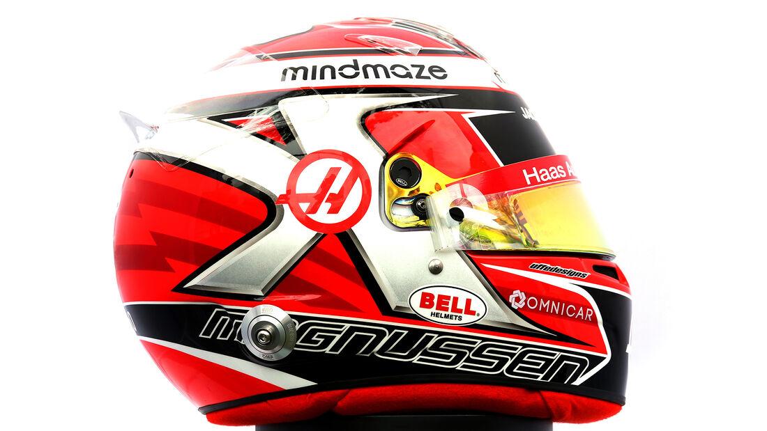 Kevin Magnussen - Porträt & Helm - Formel 1 - 2020