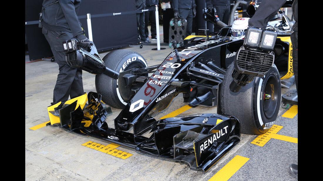 Kevin Magnussen - Renault - Barcelona - Formel 1-Test - 1. März - 2016