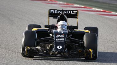Kevin Magnussen - Renault - Barcelona - Formel 1-Test - 1. März 2016