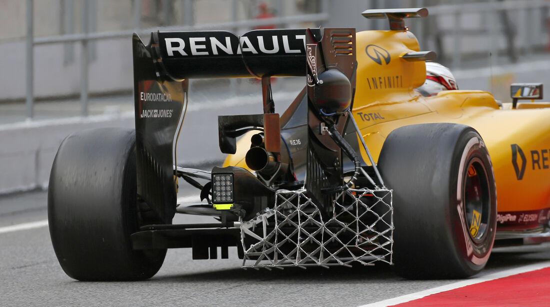 Kevin Magnussen - Renault - Barcelona Test 2 - 18. Mai 2016