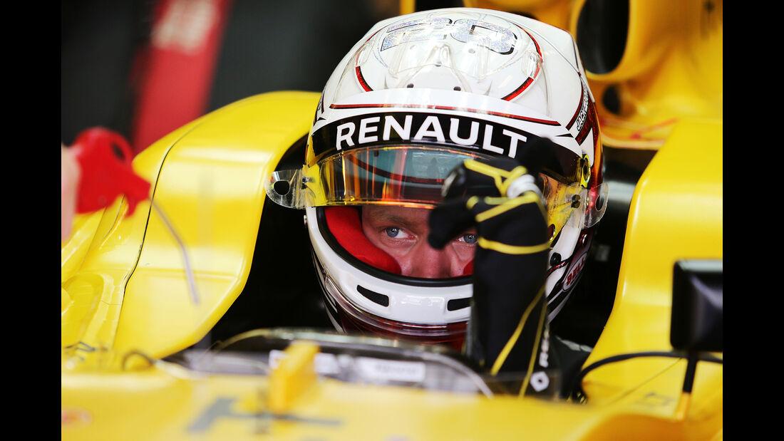 Kevin Magnussen - Renault - Formel 1 - GP Abu Dhabi - 25. November 2016