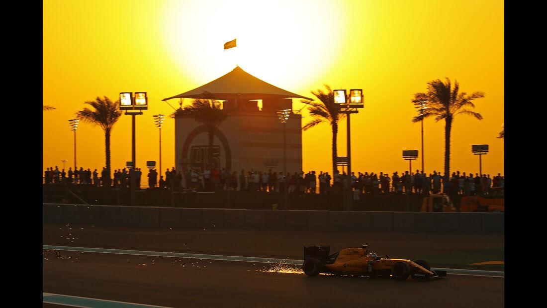 Kevin Magnussen - Renault - Formel 1 - GP Abu Dhabi - 26. November 2016