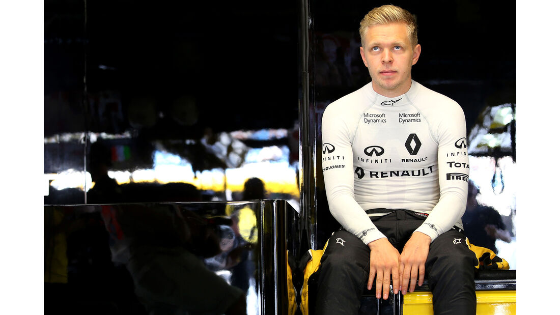 Kevin Magnussen - Renault - Formel 1 - GP Italien - Monza - 2. September 2016