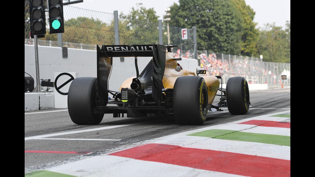 Kevin Magnussen - Renault - Formel 1 - GP Italien - Monza - 3. September 2016