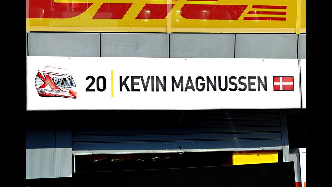 Kevin Magnussen - Renault - Formel 1  - GP Italien - Monza - 31. August 2016