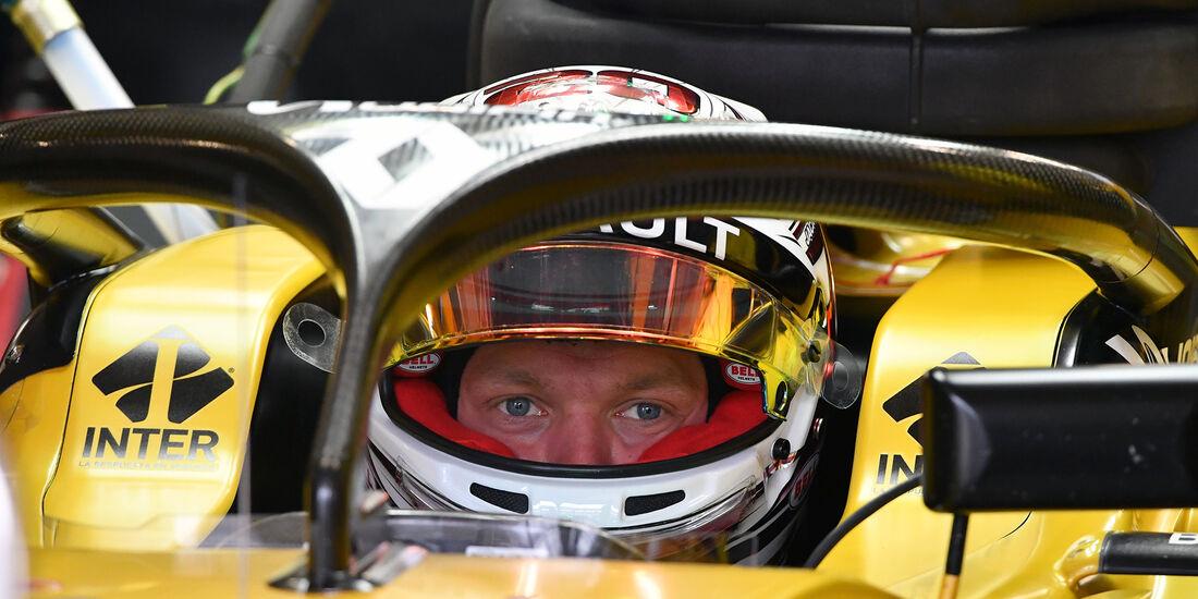 Kevin Magnussen - Renault - Formel 1 - GP Mexiko - 28. Oktober 2016