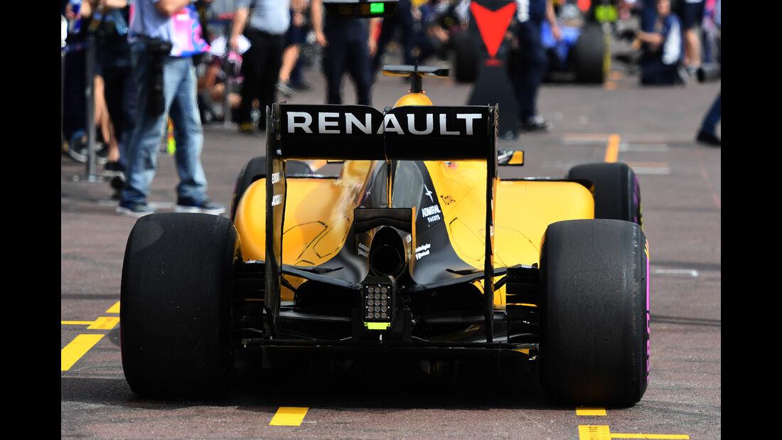 Kevin Magnussen - Renault - Formel 1 - GP Monaco - 26. Mai 2016