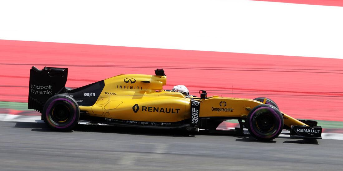 Kevin Magnussen - Renault - Formel 1 - GP Österreich - 2. Juli 2016