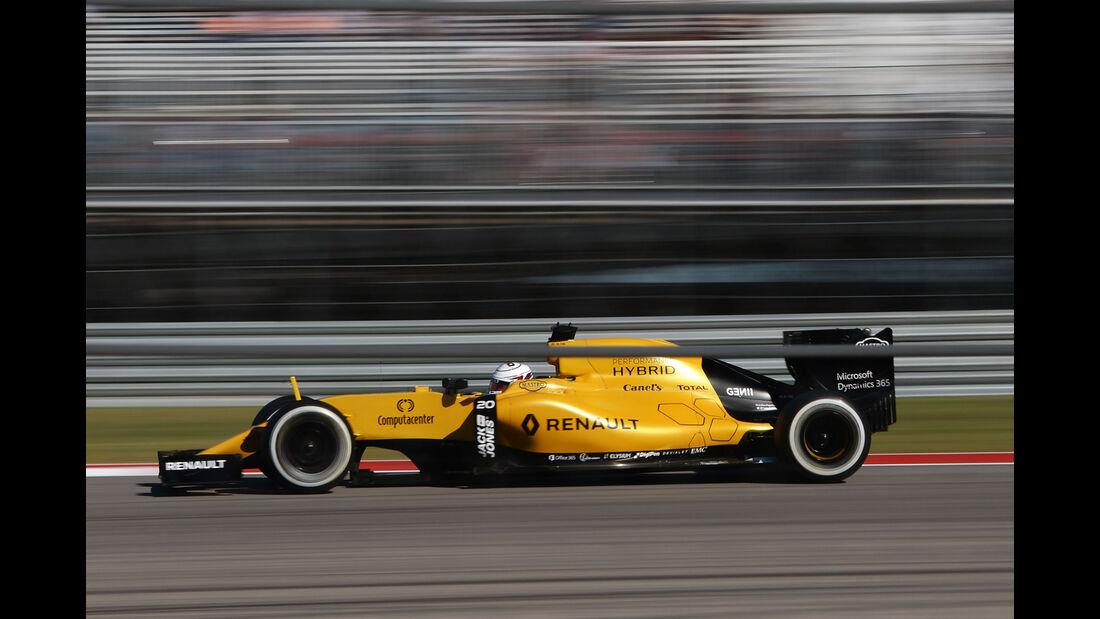 Kevin Magnussen - Renault - Formel 1 - GP USA - Austin - 21. Oktober 2016