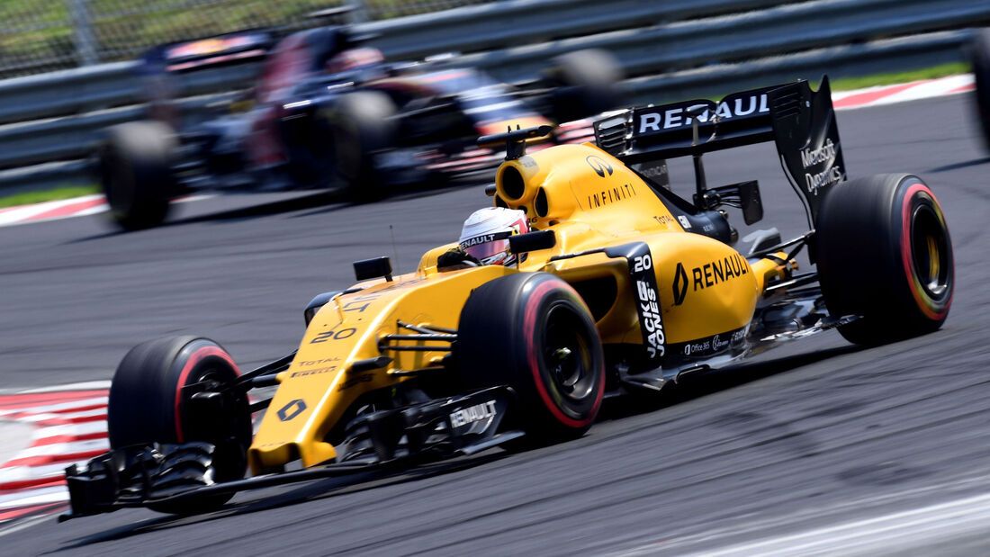 Kevin Magnussen -Renault - Formel 1 - GP Ungarn - 24. Juli 2016