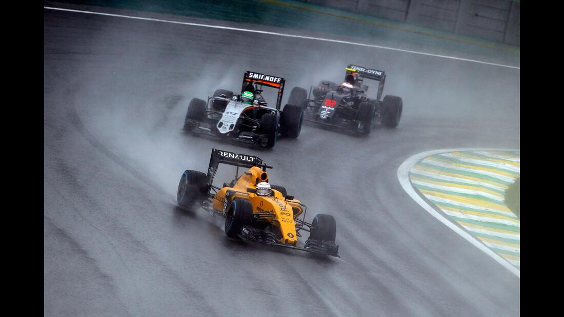 Kevin Magnussen - Renault - GP Brasilien 2016 - Interlagos - Rennen