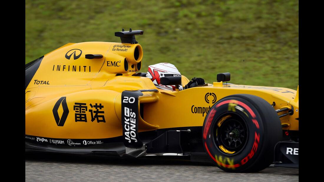 Kevin Magnussen - Renault - GP China 2016 - Shanghai - Qualifying - 16.4.2016