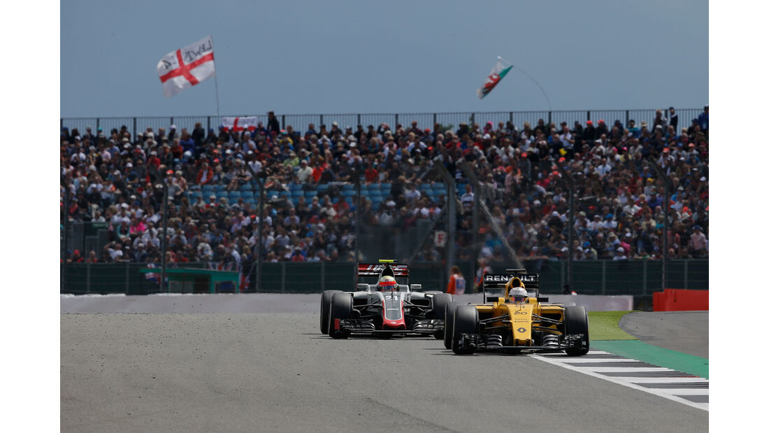 Kevin Magnussen - Renault - GP England 2016 - Silverstone - Rennen