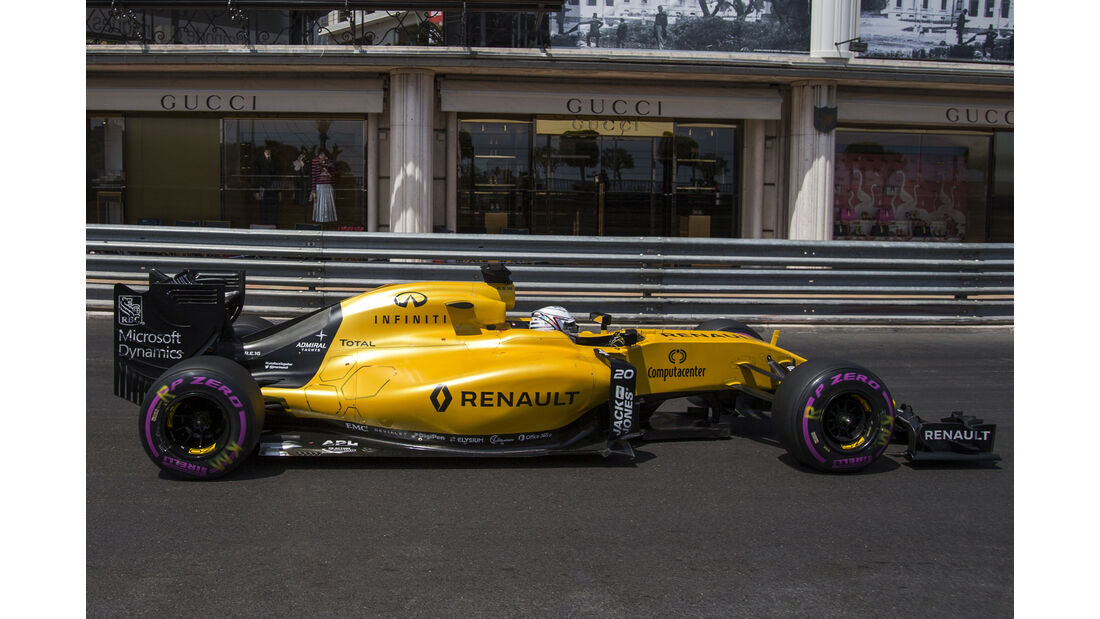 Kevin Magnussen - Renault - GP Monaco - Formel 1 - 28. Mai 2016