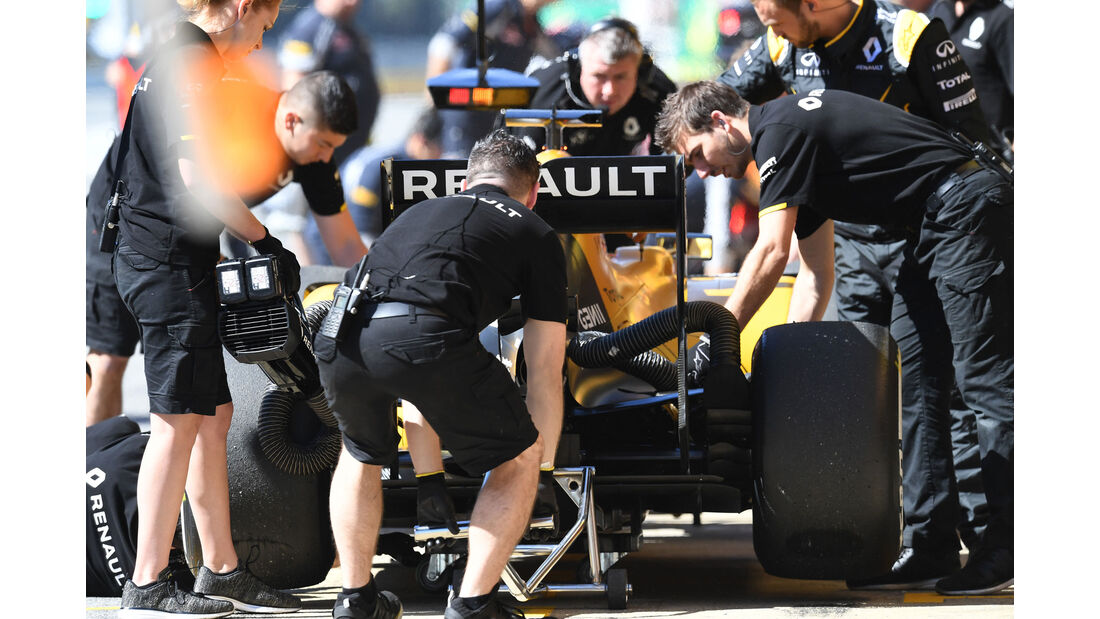Kevin Magnussen - Renault - GP Spanien 2016 - Barcelona - F1 - Freitag - 13.5.2016