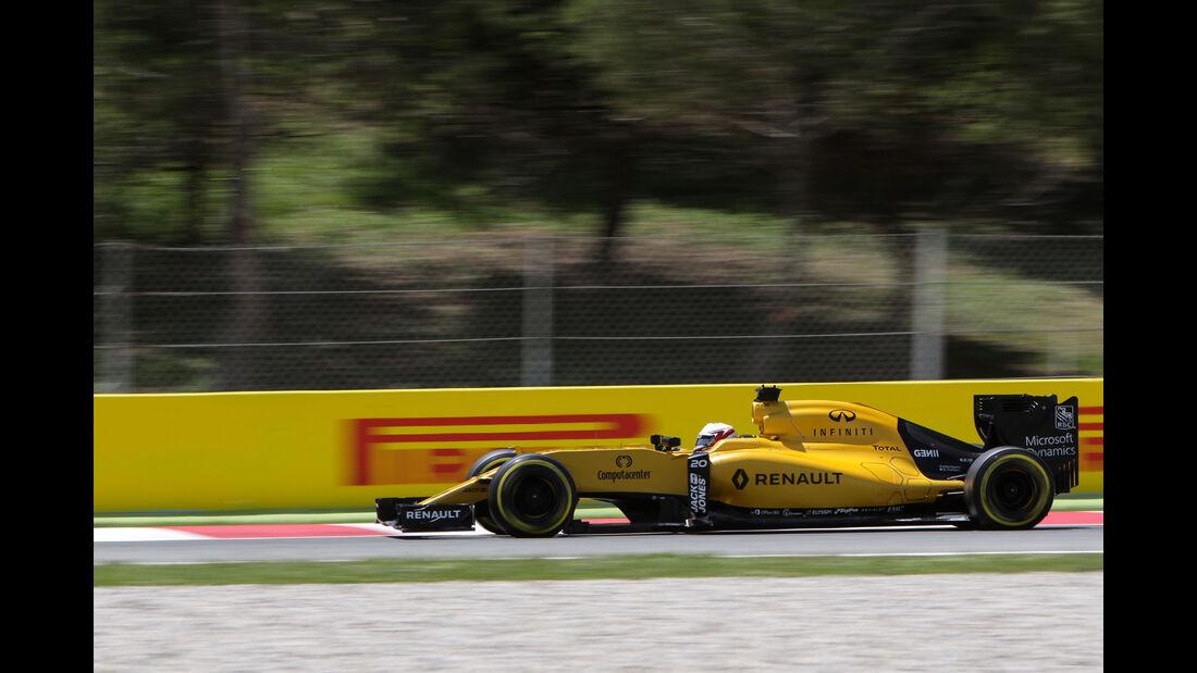 Kevin Magnussen - Renault - GP Spanien 2016 - Qualifying - Samstag - 14.5.2016