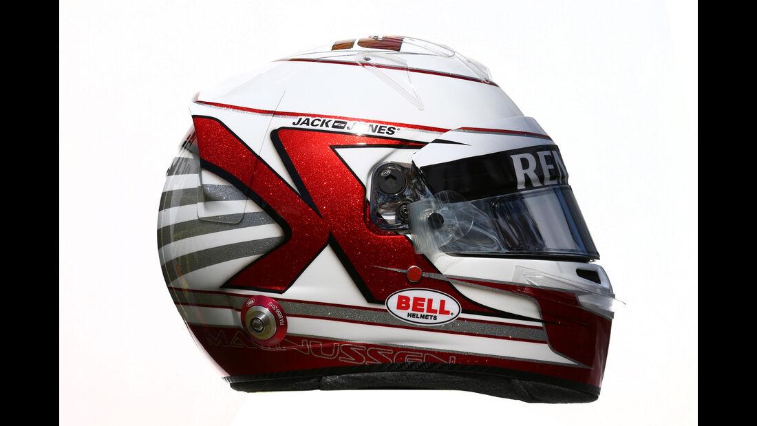 Kevin Magnussen - Renault - Helm - Formel 1 - 2016