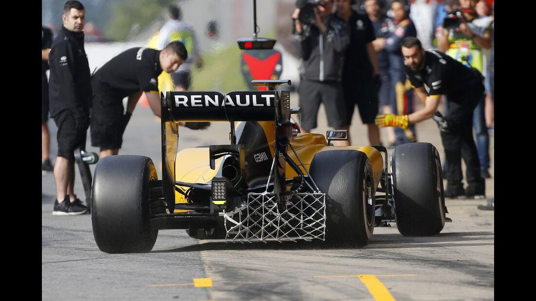 Kevin Magnussen - RenaultF1 - Barcelona Test 2 - 18. Mai 2016