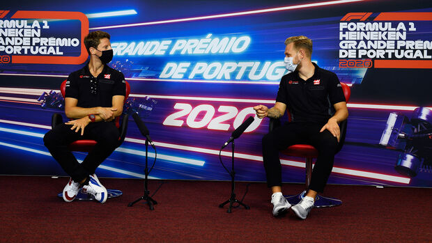 Kevin Magnussen & Romain Grosjean - GP Portugal 2020