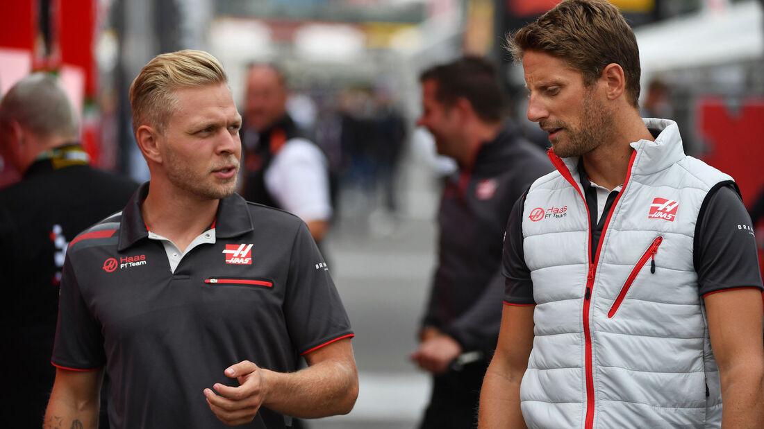 Kevin Magnussen - Romain Grosjean - HaasF1