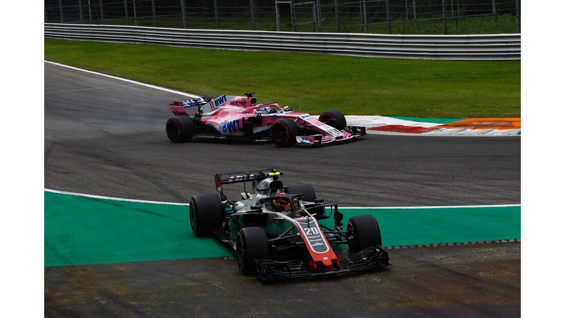 Kevin Magnussen - Sergio Perez - Formel 1 - GP Italien - 02. September 2018