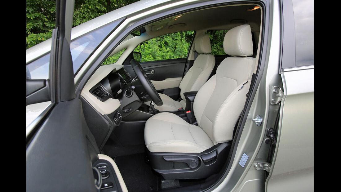Kia Carens 1.6 GDi, Fahrersitz