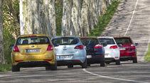 Kia Cee´d 1.6 CVVT ISG, Opel Astra 1.4 Turbo, Renault Mégane TCe 130, Toyota Auris 1.6 Valvematic, VW Golf 1.4 TSI
