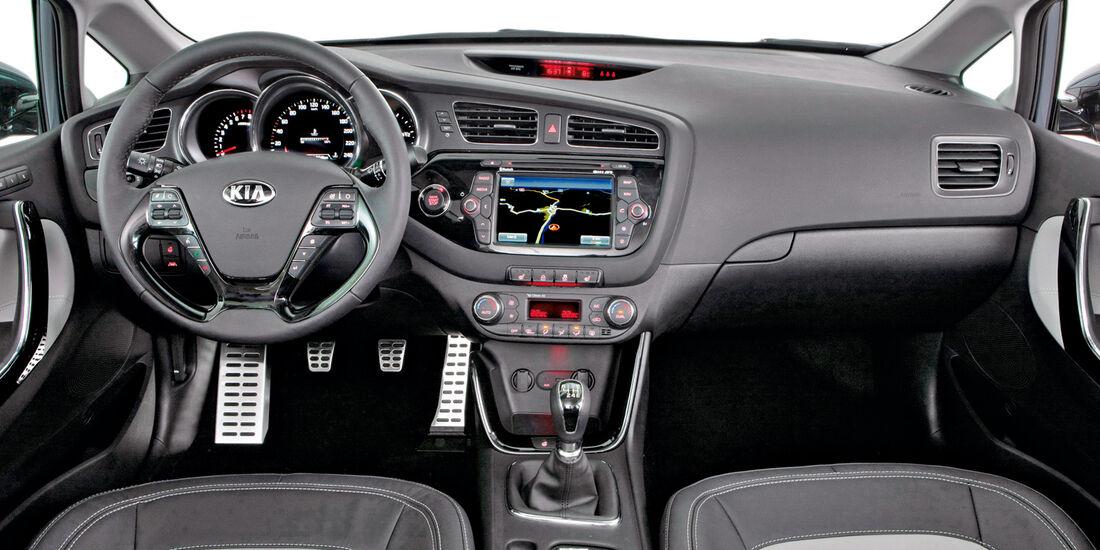 Kia Cee´d, Cockpit, Lenkrad