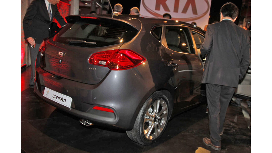 Kia Cee'd Concept Genf 2012