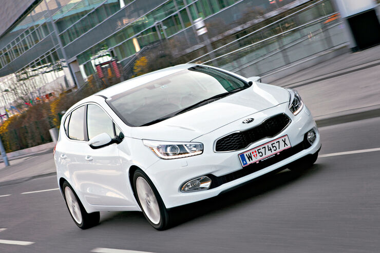 Kia Cee´d, Frontansicht