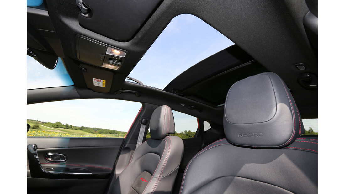 Kia Cee'd GT, Dachfenster