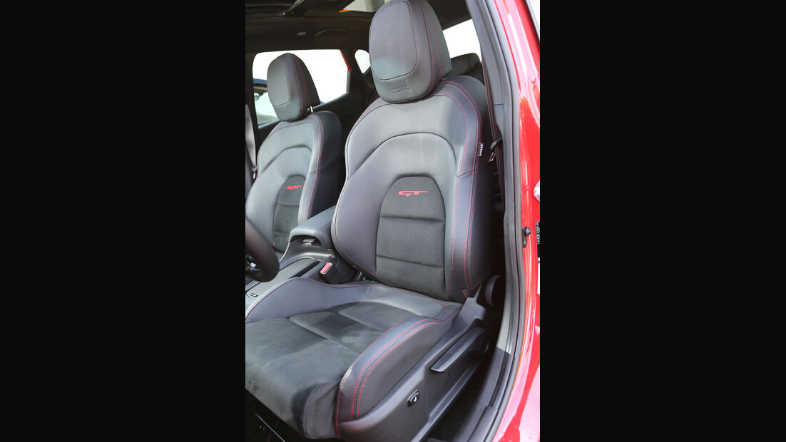 Kia Cee'd GT, Fahrersitz