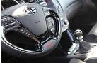 Kia Cee'd GT, Lenkrad, Detail