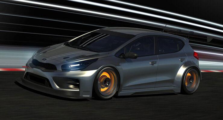 Kia Cee'd - TCR - Motorsport