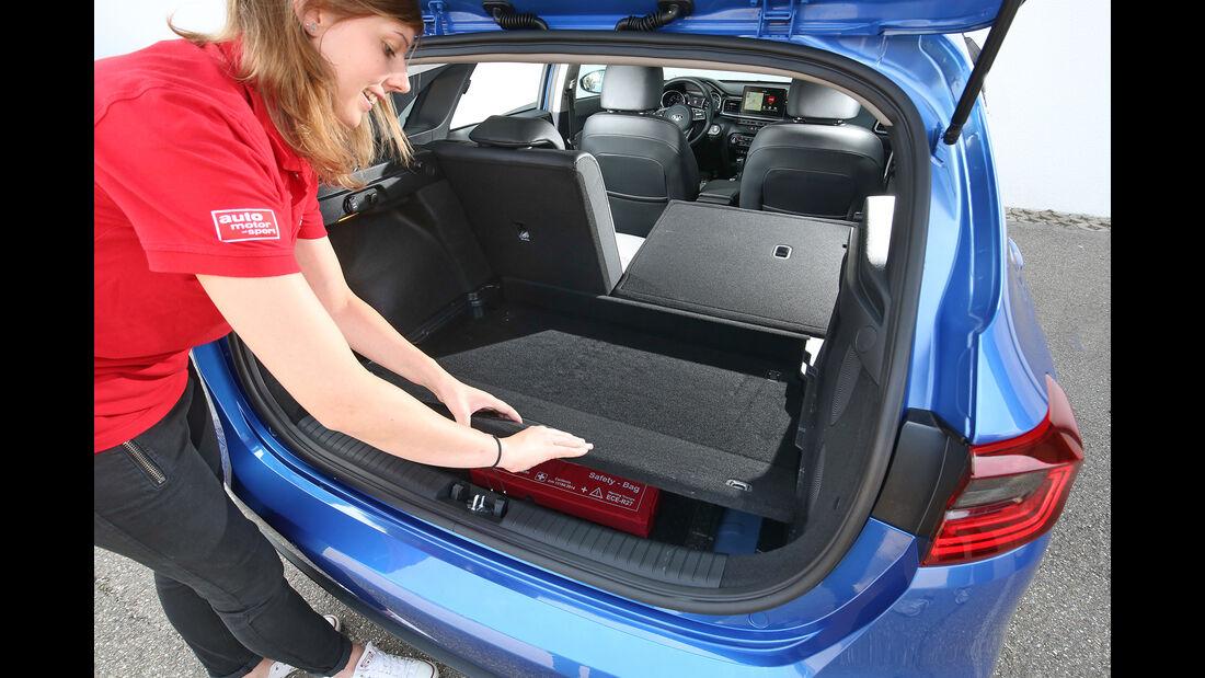 Kia Ceed 1.4 T-GDI, Kofferraum