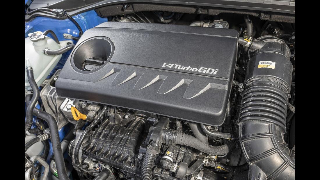 Kia Ceed 1.4 T-GDI, Motorraum
