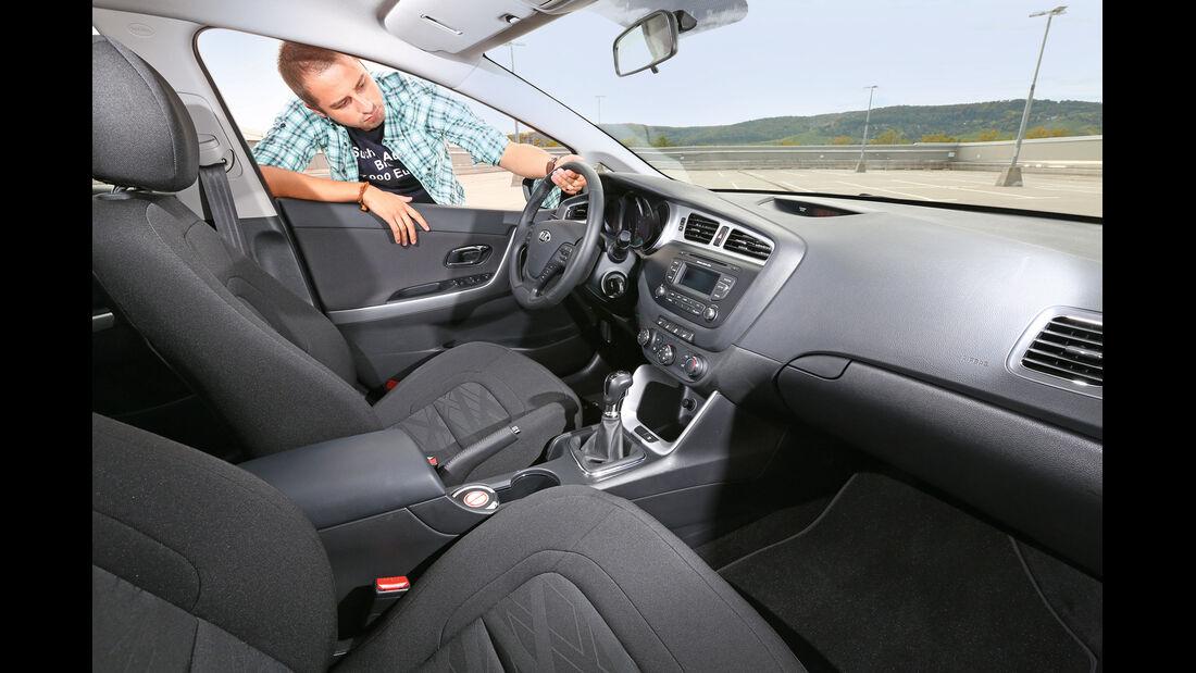 Kia Ceed, Cockpit, Lenkrad