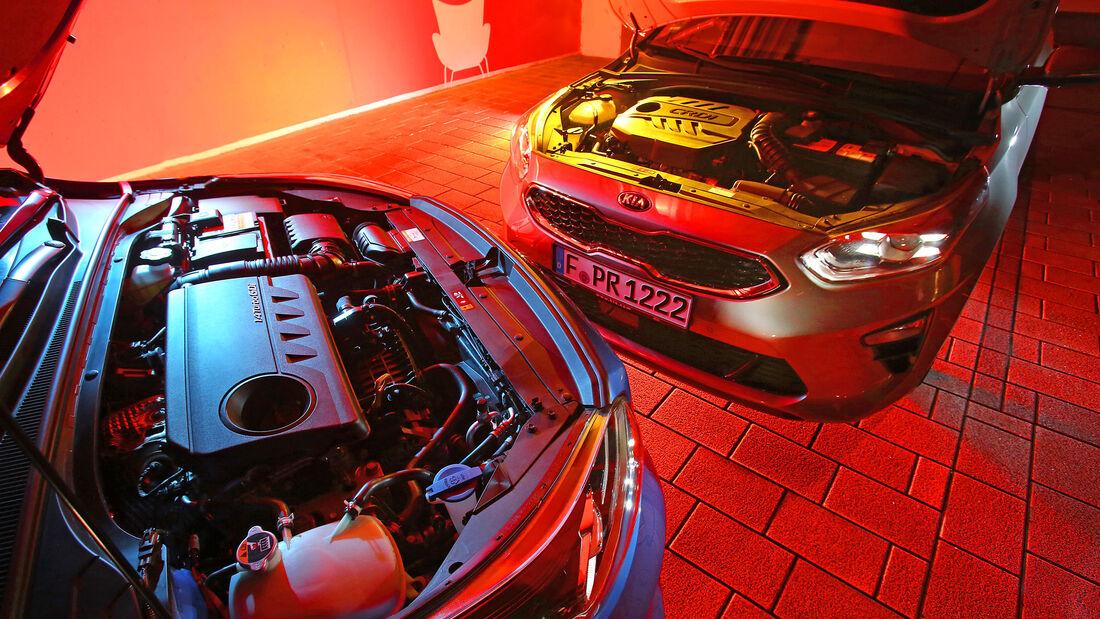 Kia Ceed Sportswagon 1.4 T-GDI & 1.6 CRDi, Motor